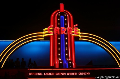 batman arkham origins,launch event,carré,warner
