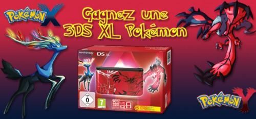 concours,3ds xl pokemon
