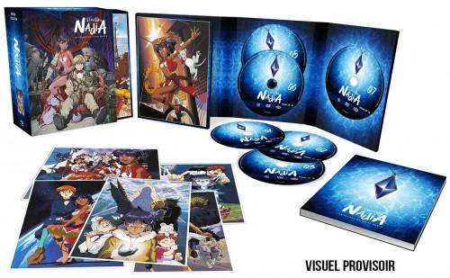 nadia, le secret de l'eau bleue, blu-ray, dvd,