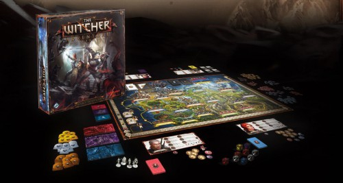 The witcher, jeu de plateau, adventure game, cd projekt, Fantasy Flight Games