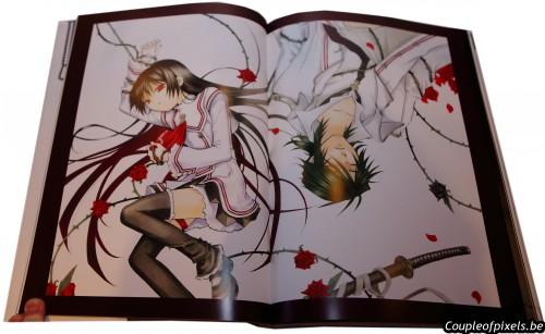 artbook, spice & wolf, pandora heart, craquage