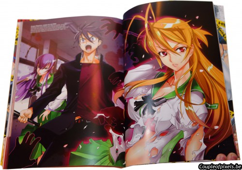 artbook,sexy,highschool of the dead,triage x,shouji sato