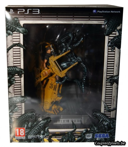 aliens colonial marines,collector,déballage