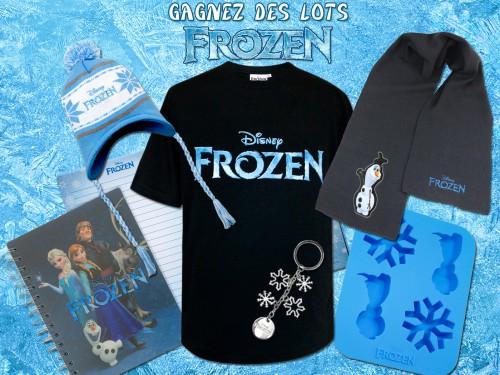 concours,frozen,la reine des neiges,disney,goodies,gagnants,résultats