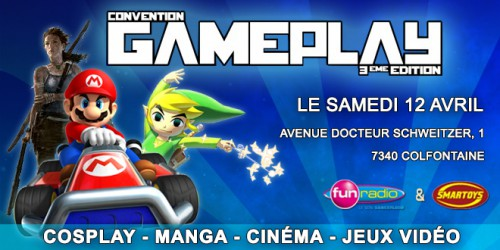 convention gameplay 2014,convention,salon,geek