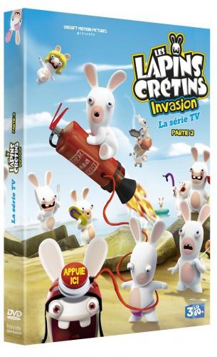 lapins crétins,invasion,série animée