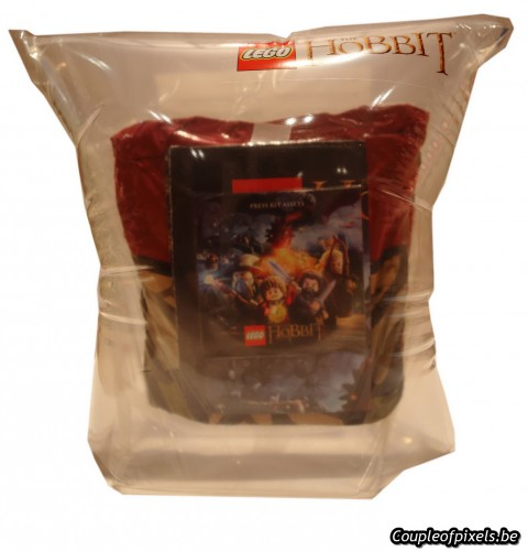 lego the hobbit,déballage,kit presse,goodies