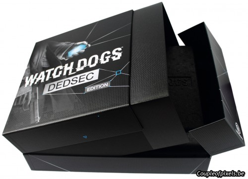 watchdogs,watch dogs,collector,dedsec,déballage,figurine,goodies