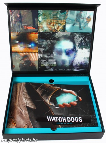 kit presse,déballage,watch dogs,watchdogs,ubisoft