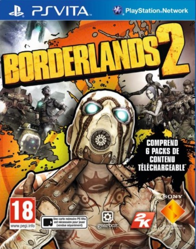 borderlands 2,ps vita,test