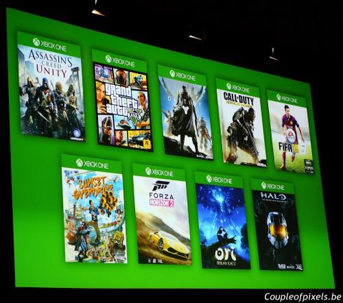gamescom 2014,conférence microsoft,résumé,avis
