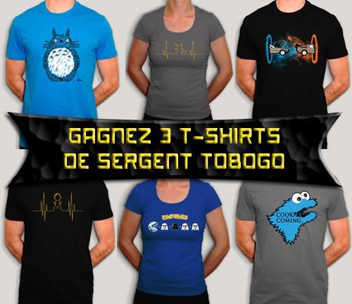 concours,t-shirt,gagner,sergent tobogo,cadeaux
