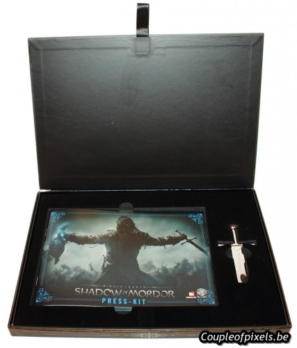 shadow of mordor,l'ombre du mordor,kit presse,déballage