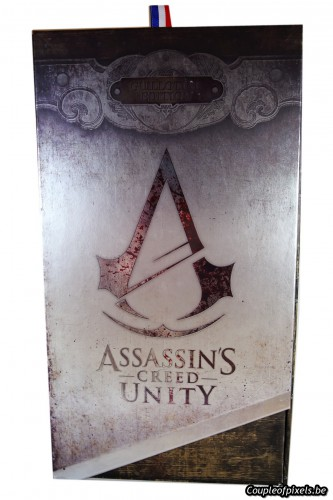 assassin's creed unity,collector,guillotine,déballage,unboxing