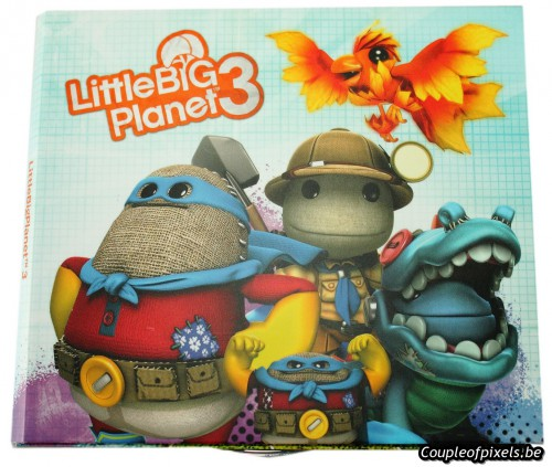 little big planet 3,kit presse,déballage