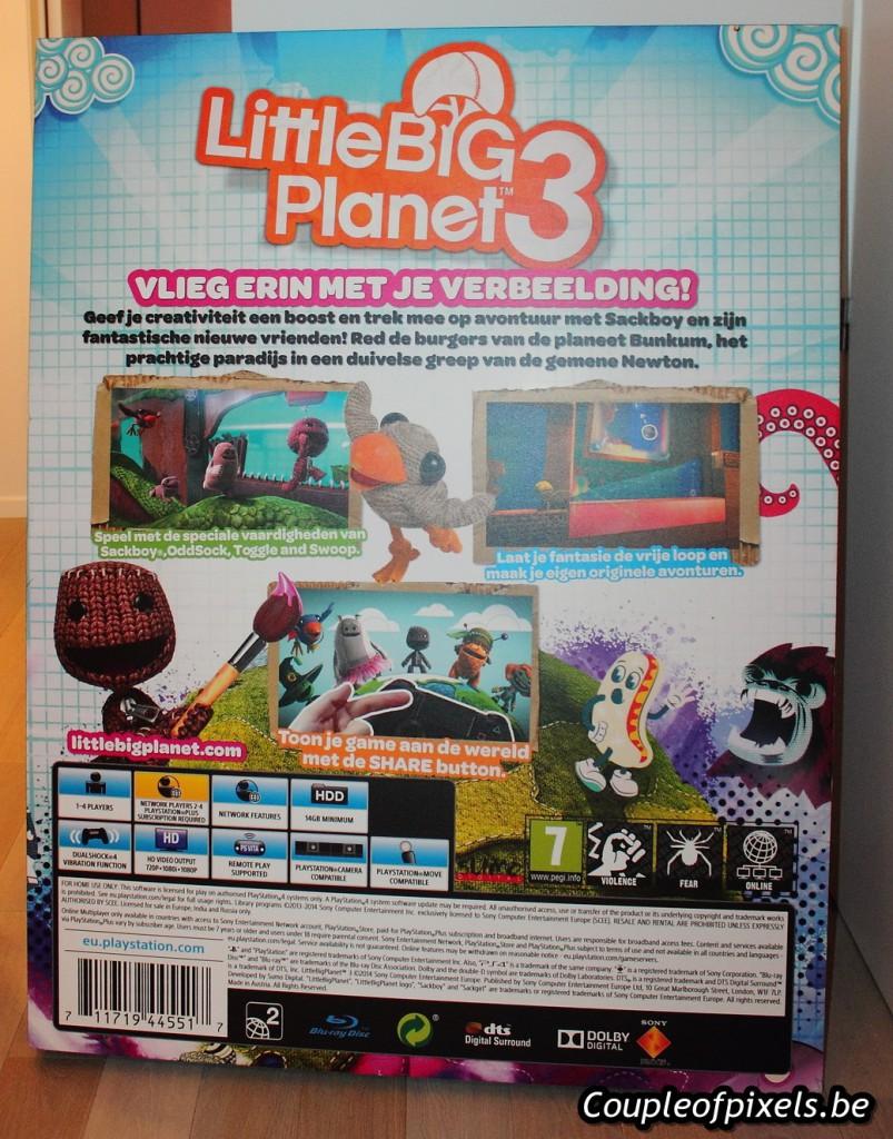 Arrivage De Folie Dune Bote Gante Little Big Planet 3 Couple Ps4 3bote Gantedballagepublicitskit Presse