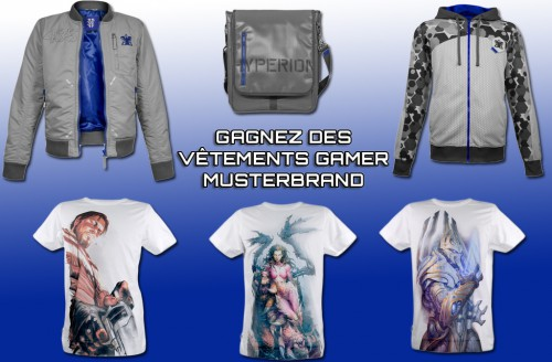 concours,musterbrand,vêtement gamer,cadeaux,gagner