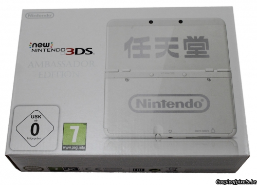 new 3ds,ambassador,ambassadeur,déballage,test,avis