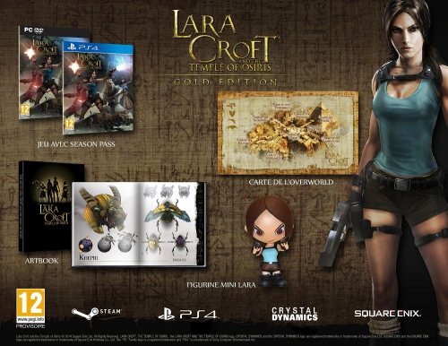 concours,gagner,cadeaux,lara croft,temple of osiris,collector