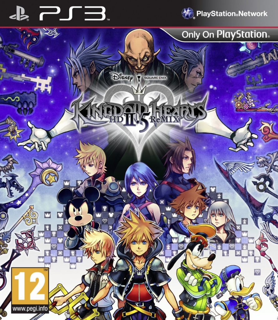 Anime Picture Collections: Kingdom Hearts Girls (Bonus)