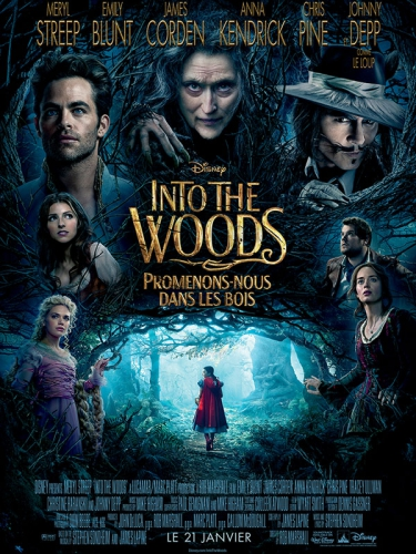 into the woods,critique,avis,comédie musicale,disney