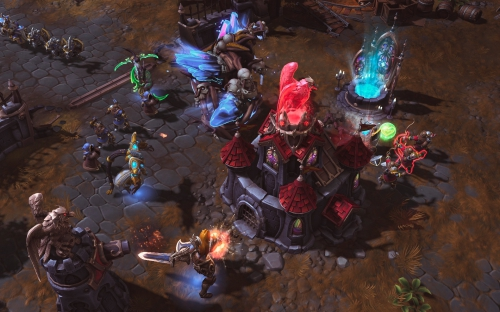 heroes of the storm,impressions,moba,alpha,bêta,blizzzard
