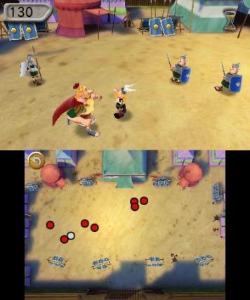 astérix,le domaine des dieux,mini-jeux,big ben