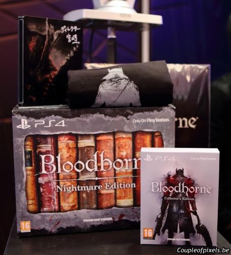 bloodborne,preview,event,kit presse,déballage