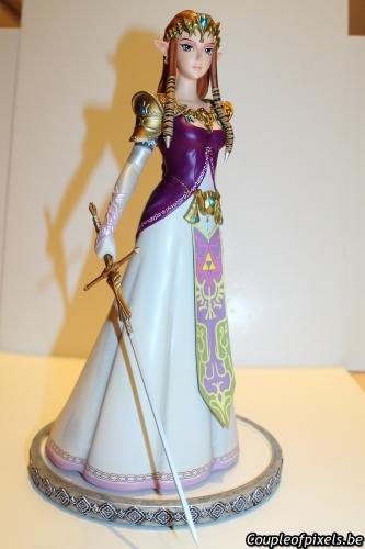 first 4 figures,figurine,statuette,zelda,twilight princess,craquage
