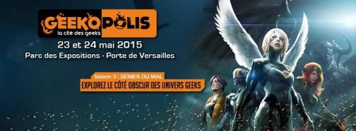 geekopolis 2015,présentation,invités