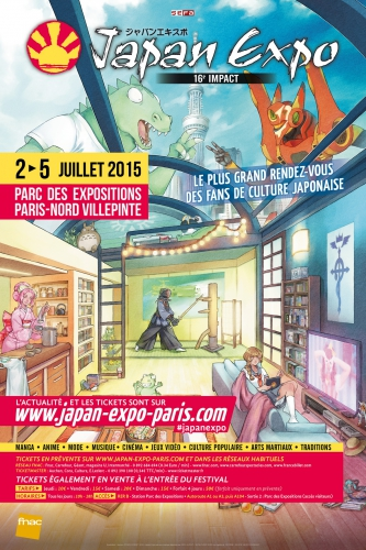 japan expo 2015,présentation,programme
