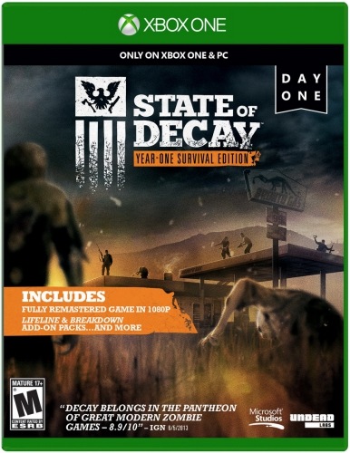 state of decay,year one survival edition,test,avis