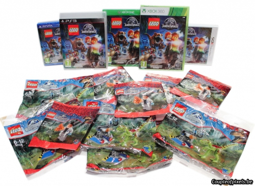 concours,lego jurasssic world,goodies,cadeaux,gagner