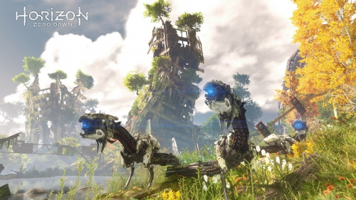horizon zero dawn,preview,impressions,e3 2015