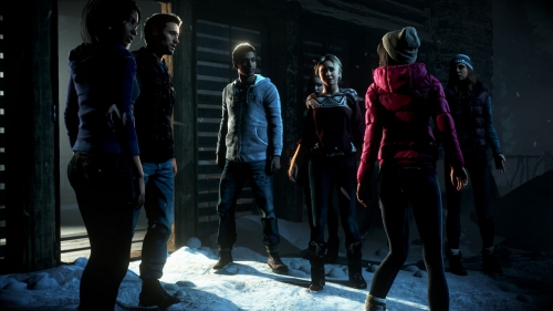 until dawn,event,interview,preview,impressions