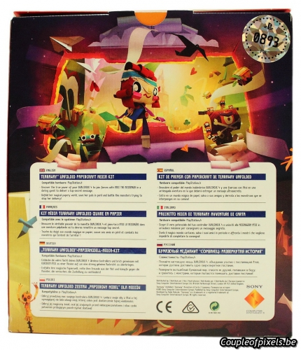 tearaway unfolded,déballage,kit presse