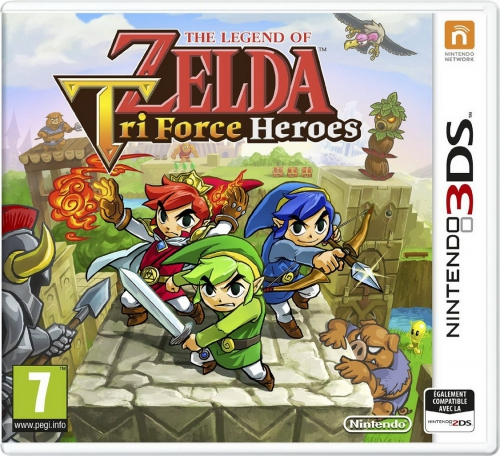 zelda,tri force heroes,3ds,test,avis