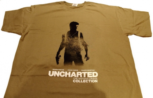 concours,uncharted,nathan drake,cadeaux,t-shirt
