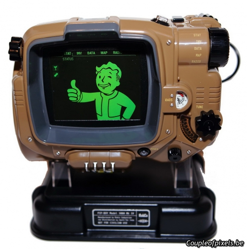 fallout 4,pip boy,déballage