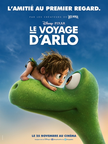 arlo, voyage d'arlo, good dinosaur, disney, pixar, avis, cinéma, critique