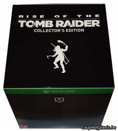 déballage,craquage,rise of the tomb raider,collector