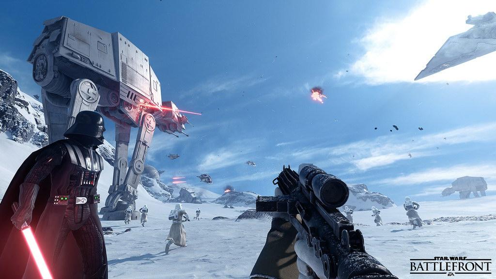 Test Star Wars Battlefront La Force Séveille Au Jeu Vidéo