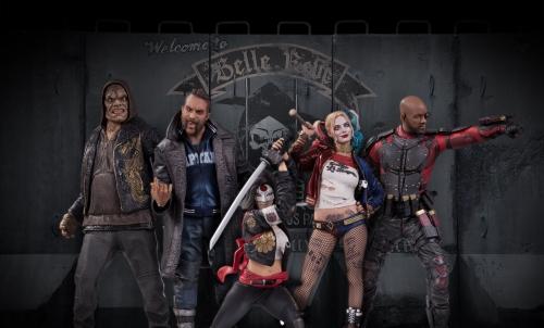 suicide squad,dc collectibles,statuette,figurine,craquage