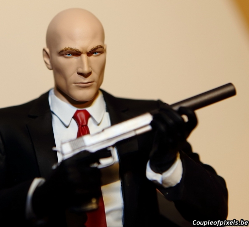 hitman,collector,déballage,figurine
