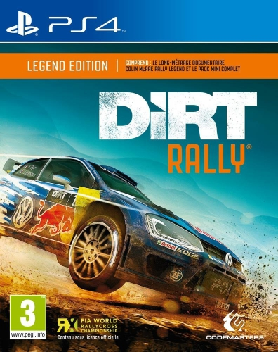 dirt rally,rally,test,avis,codemasters