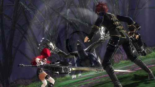 god eater,rage burst,resurrection,preview,impressions