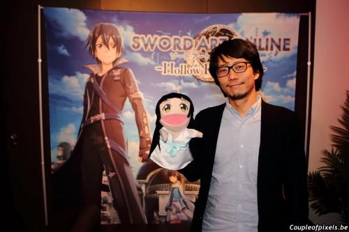 interview,yosuke futami,sword art online,hollow realization