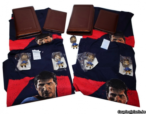 concours,uncharted 4,t-shirt,goodies,cadeaux,gagner