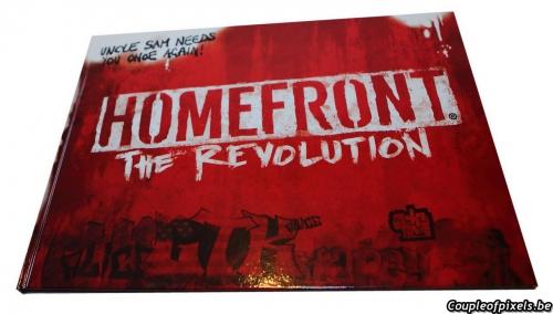 déballage,unboxing,collector,goliath,homefront,homefront the revolution