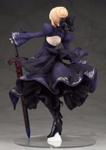 fate grand order,saber,alter,pvc,figurine,craquage